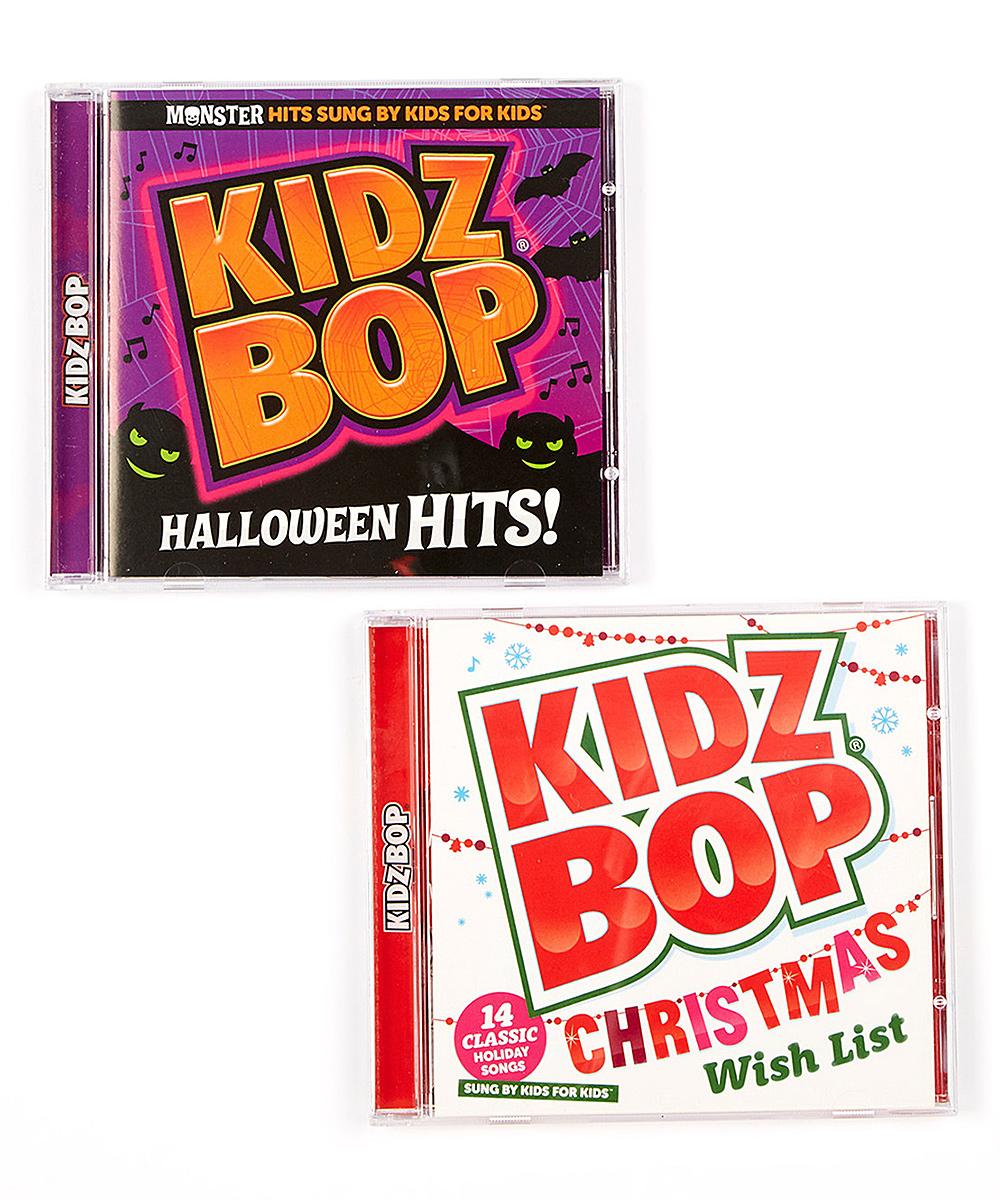 KIDZ BOP Halloween Hits & KIDZ BOP Christmas CD Set | zulily