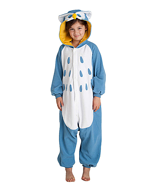 a3cb6503 Kigu.me Owl Kigurumi Costume Bodysuit - Kids