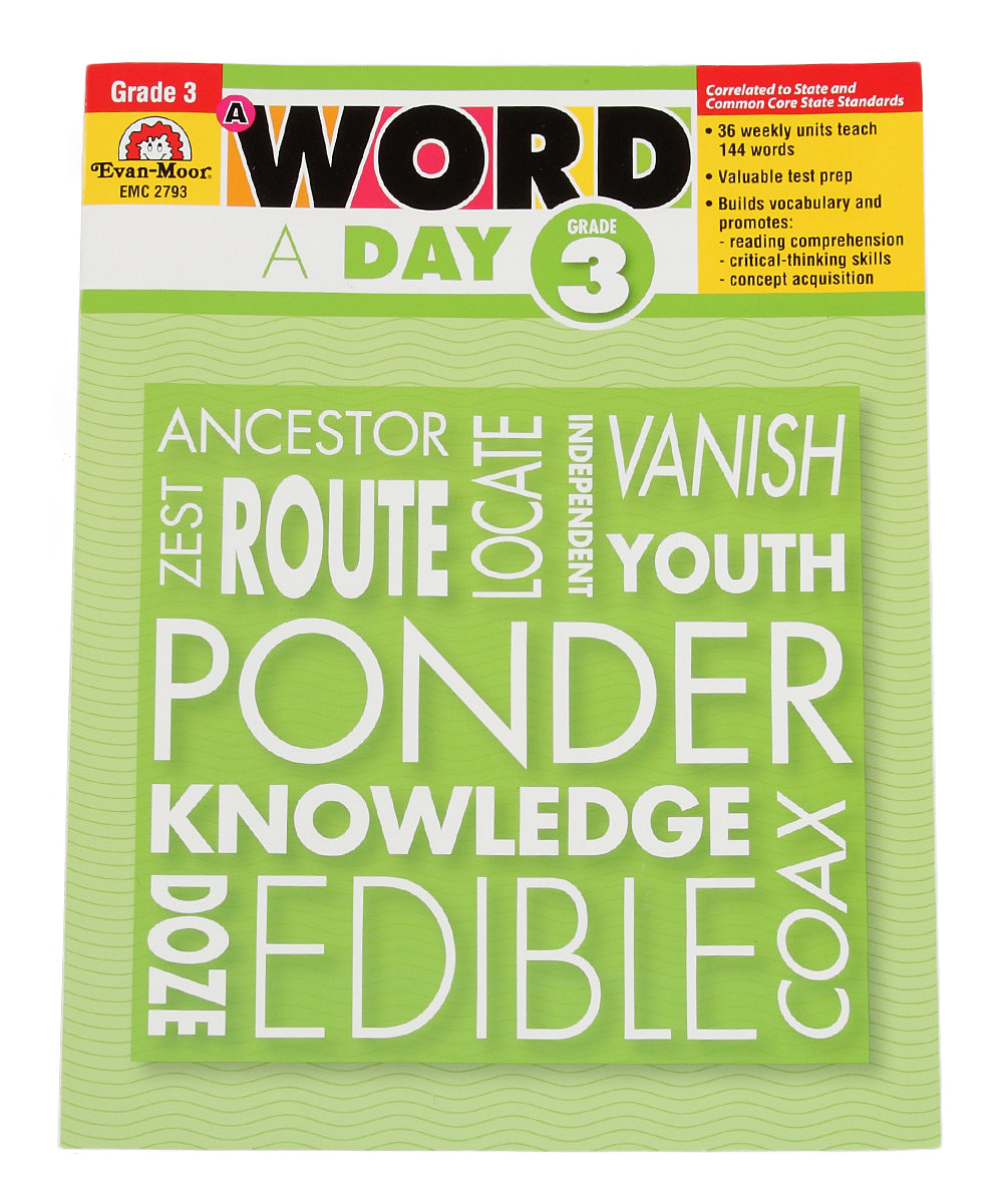 Evan-Moor Educational Publishers Grade 3 A Word a Day Workbook