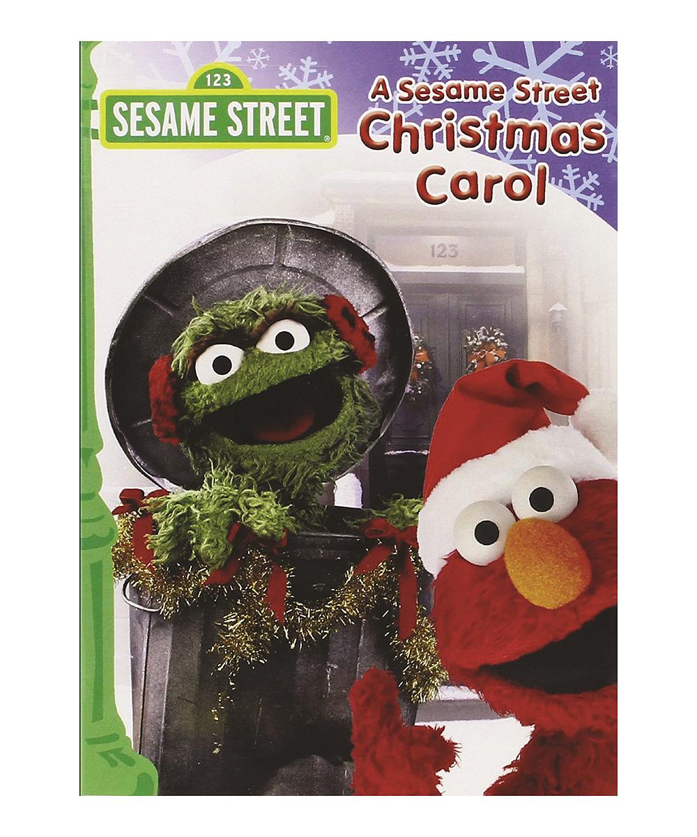 NewSound Sesame Street Christmas Carol DVD
