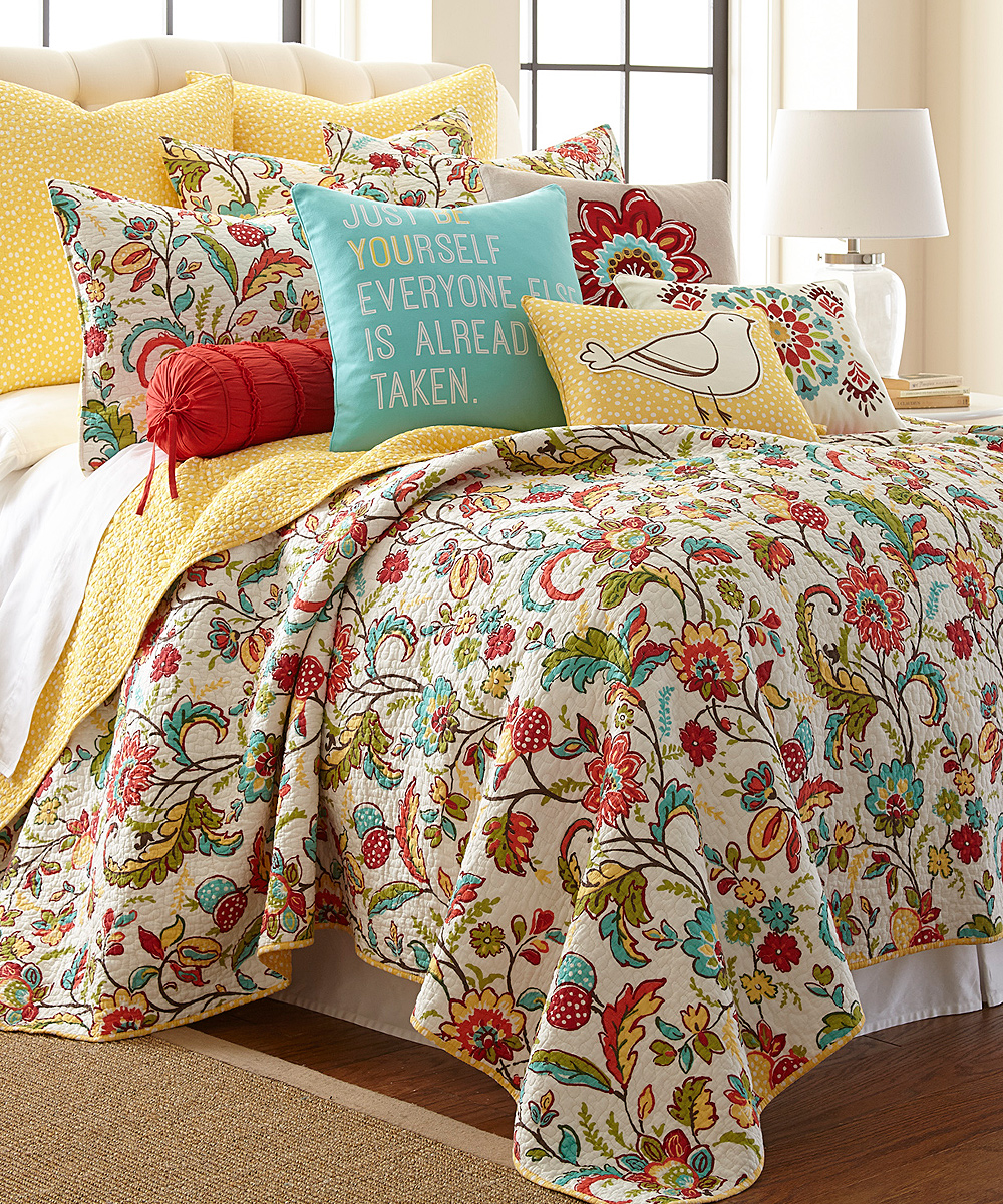 Levtex Home Quilt Set Part - 18: Levtex Home Meadow Quilt Set | zulily