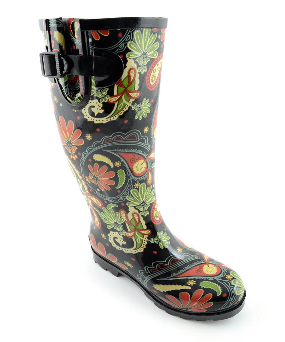 120019a2dc3 Corkys Footwear Paisley Sunshine Rain Boot - Women