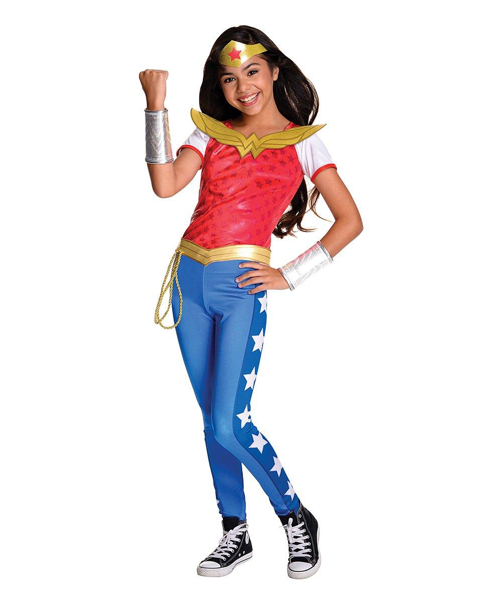 053ce8aaff6 Rubie's Wonder Woman Deluxe Dress-Up Set - Girls