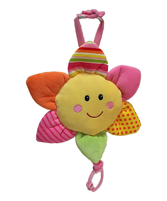 47e0c0f7b78d7e Linzy Toys Pink Musical Sun Pull-String Toy | Zulily