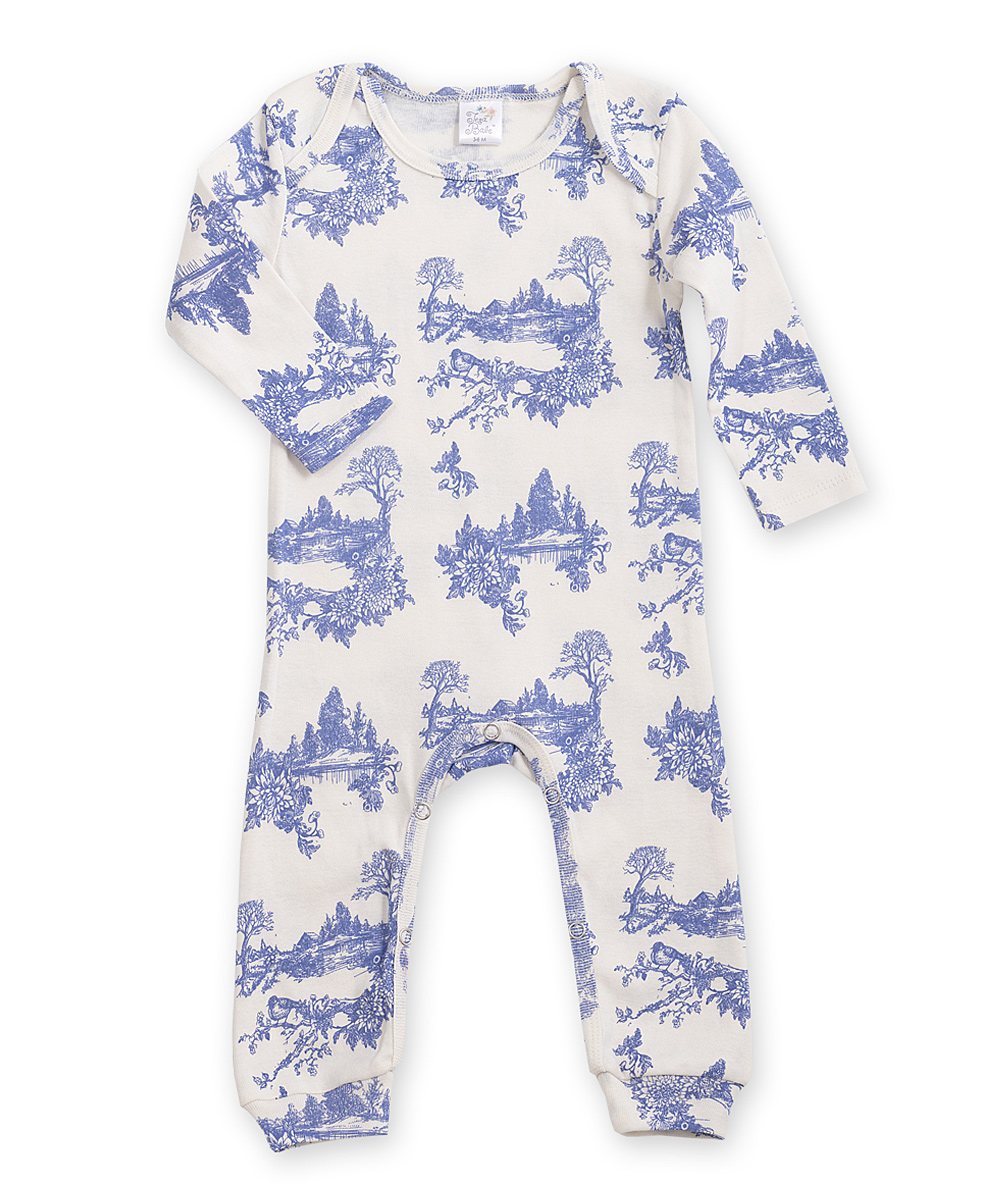 bf58d63cd1b4 love this product Blue   White Toile Romper - Infant
