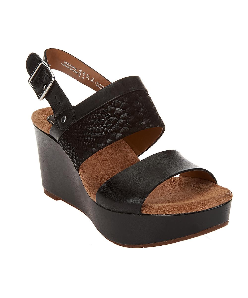 546bf42030e love this product Black Caslynn Kat Wedge Sandal