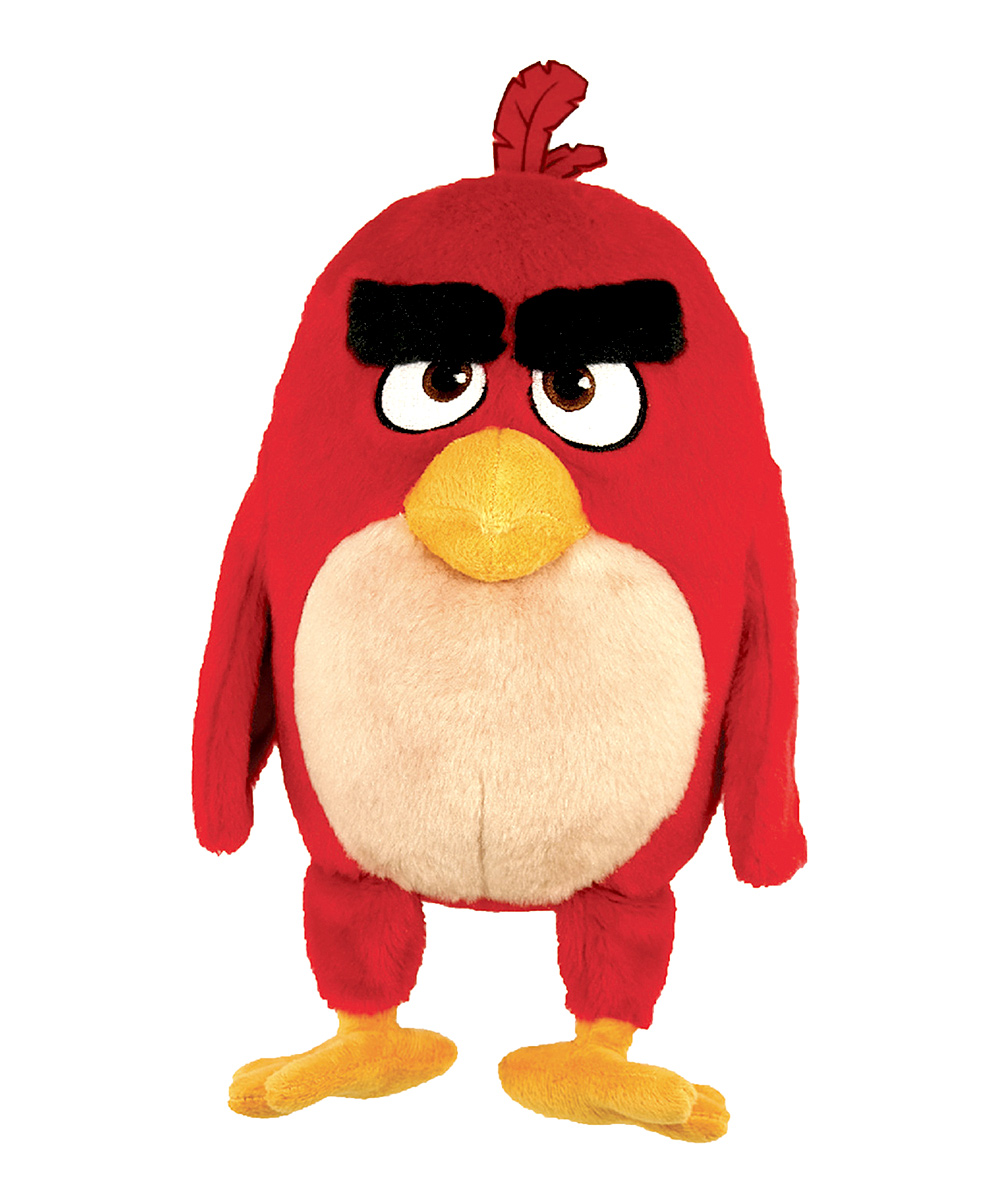 Angry Birds Angry Birds Movie Speaking Red Plush