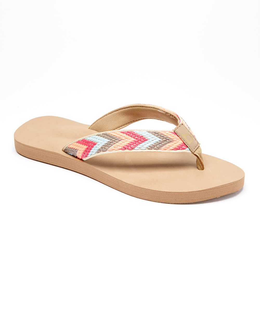 f995ec8ea428 love this product Light Blue   Tan Chevron Flip-Flop