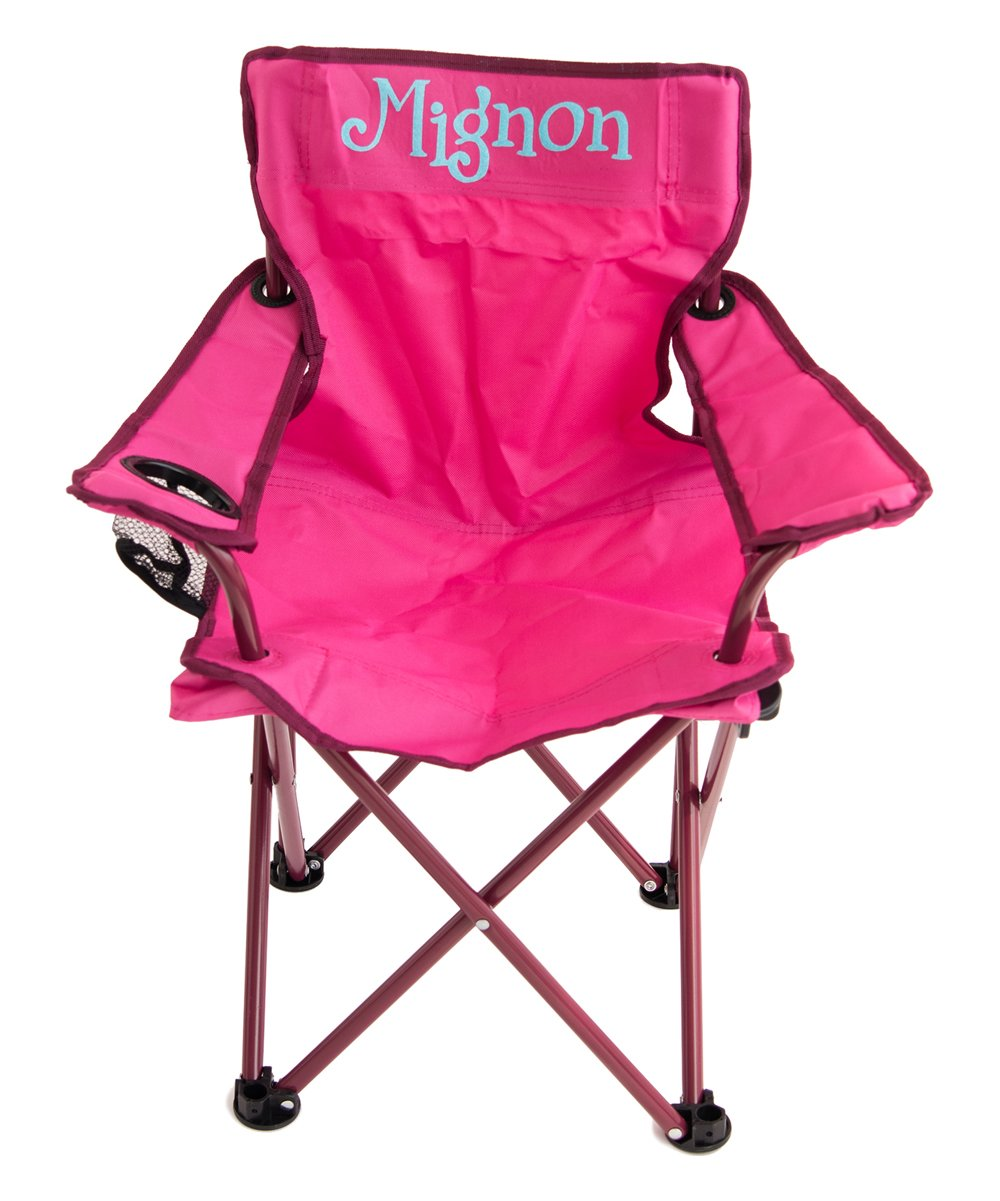 Attrayant Love This Product Pink U0026 Neon Blue Personalized Kidsu0027 Folding Chair