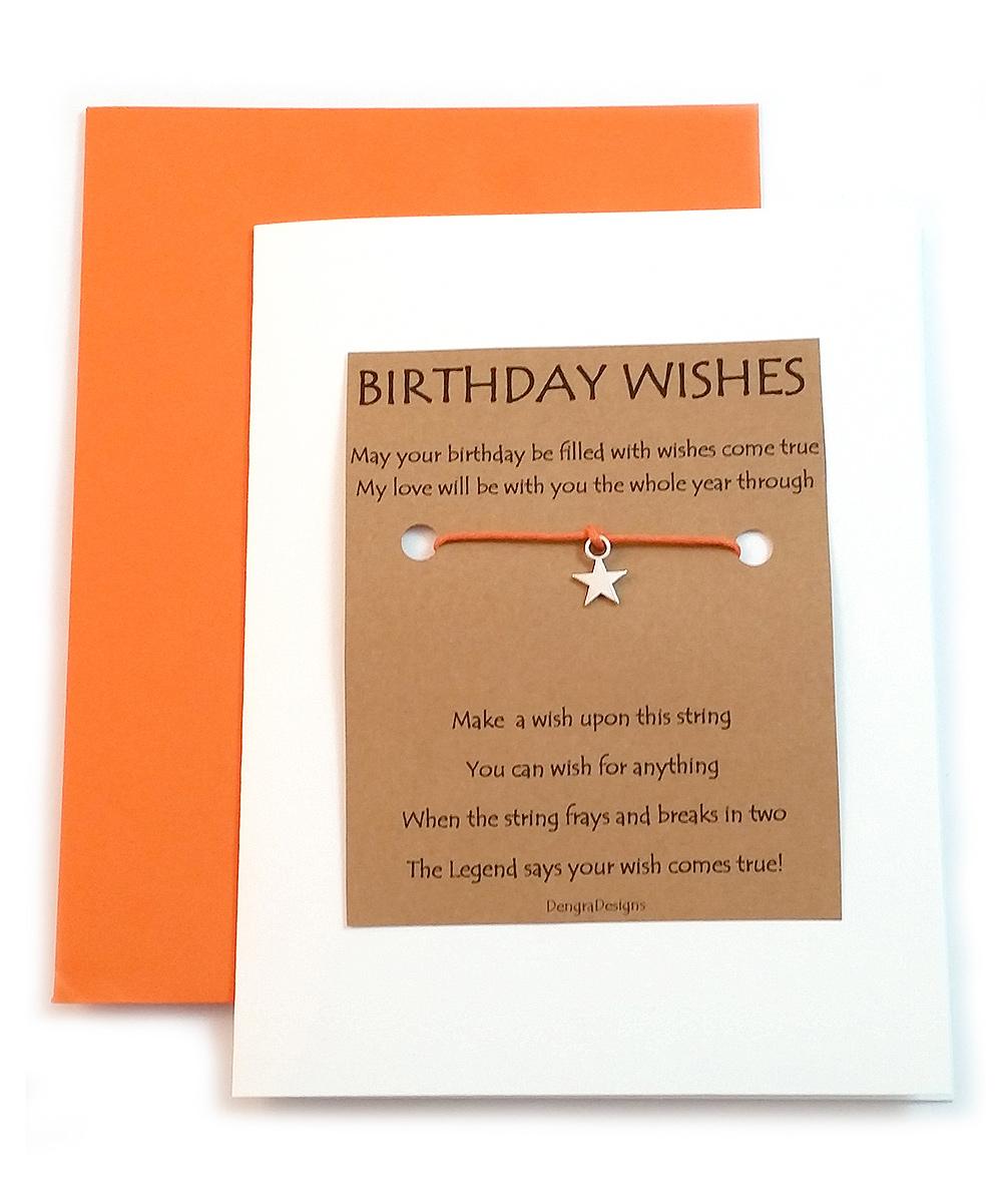 Fresh Prints of CT Birthday Wishes Star Charm Bracelet