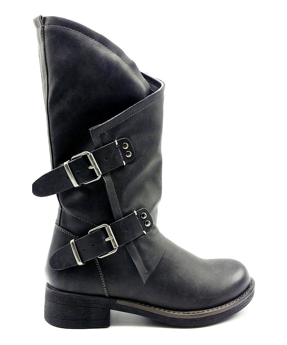 183e74f2117 Coolway Black Alida Boot
