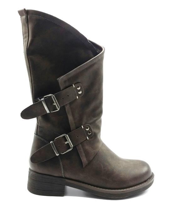 01eee6e5fdb Coolway Dark Brown Alida Boot - Women
