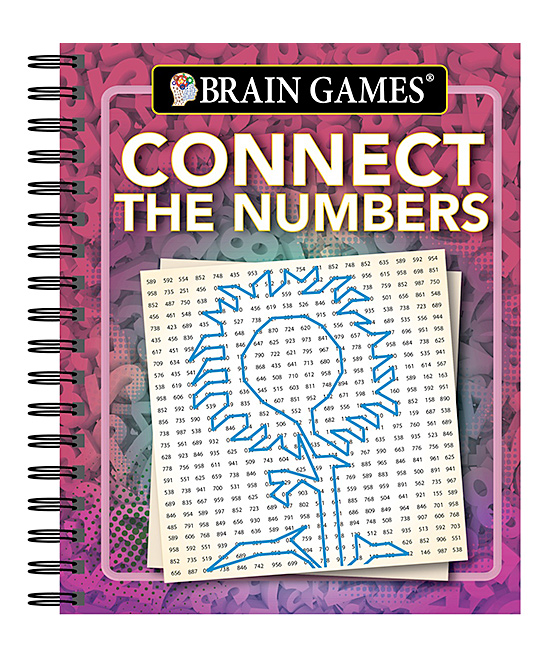 Brain Games Brain Games™ Connect the Numbers Activity Book