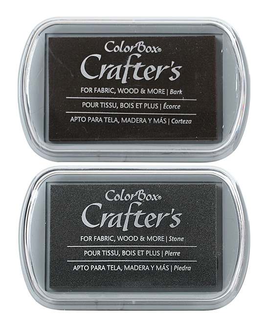 Colorbox Stone Bark Crafter S Ink Pads