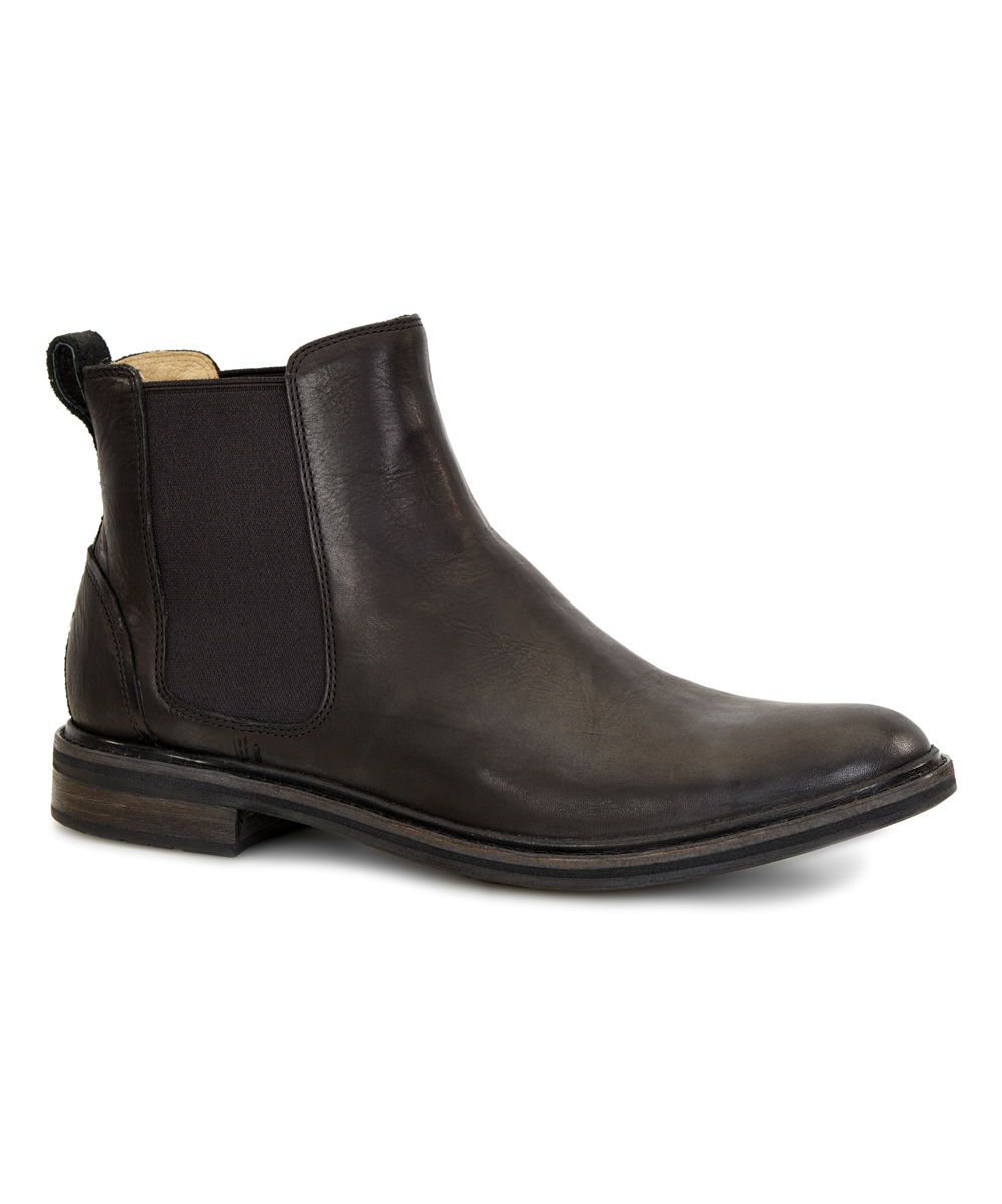 36f4fcb342a UGG® UGG® Black Leif Leather Chelsea Boot