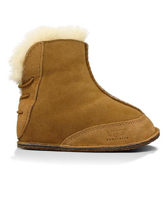771d219f137 UGG® UGG® Chestnut Baby Boo Suede Boot - Infant