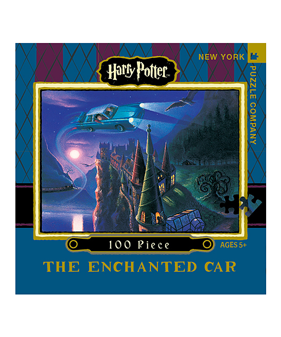 love this product Harry Potter Enchanted Car 100-Piece Travel Puzzle