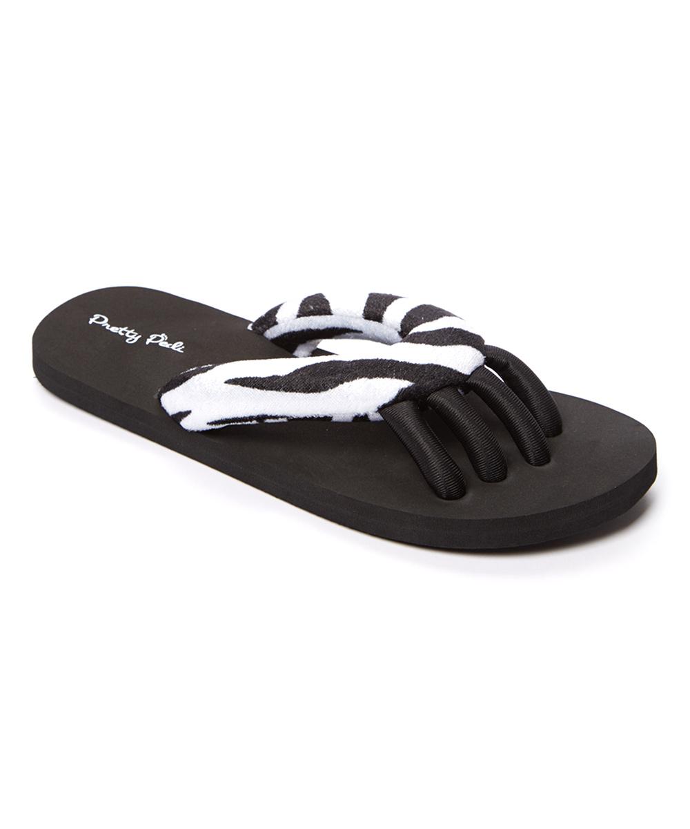 610ea2c3a8d1e love this product Black Zebra Spa Flip-Flop - Women