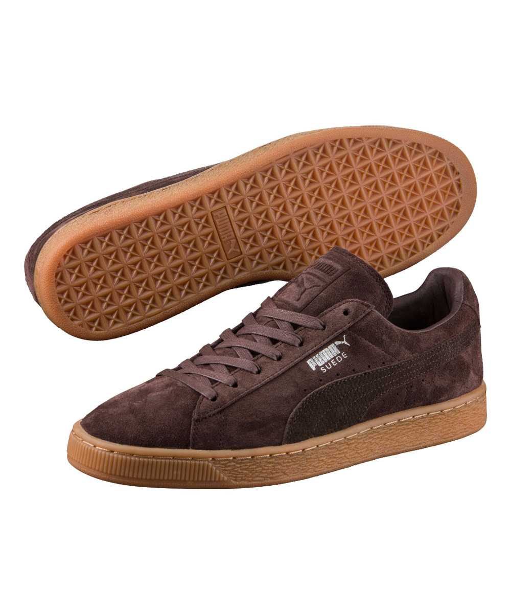 Classic Puma Black Sneaker Suede Coffee Citi b7Yyfgv6