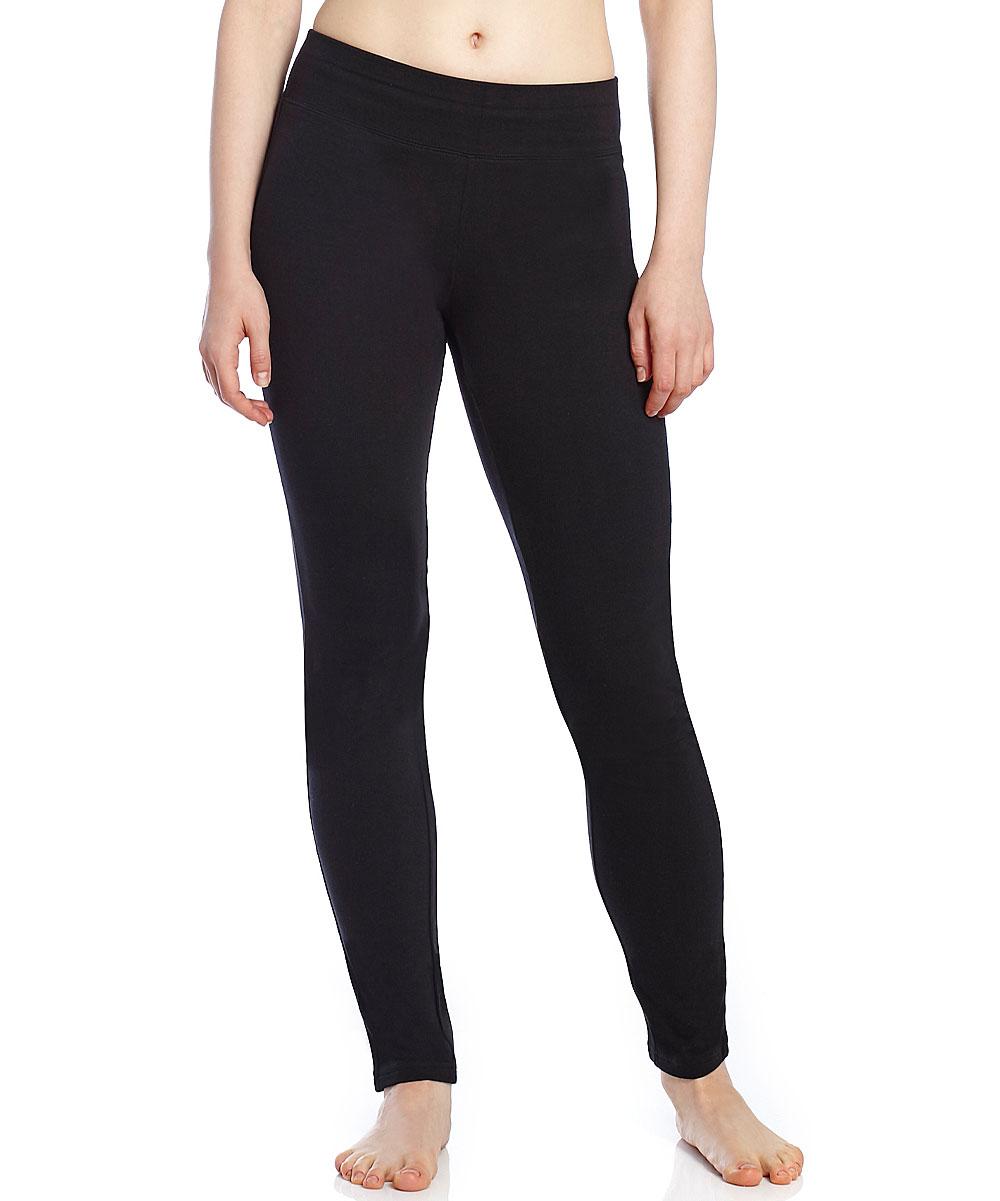 086931a980 love this product Black Boot-Leg Yoga Pants - Women
