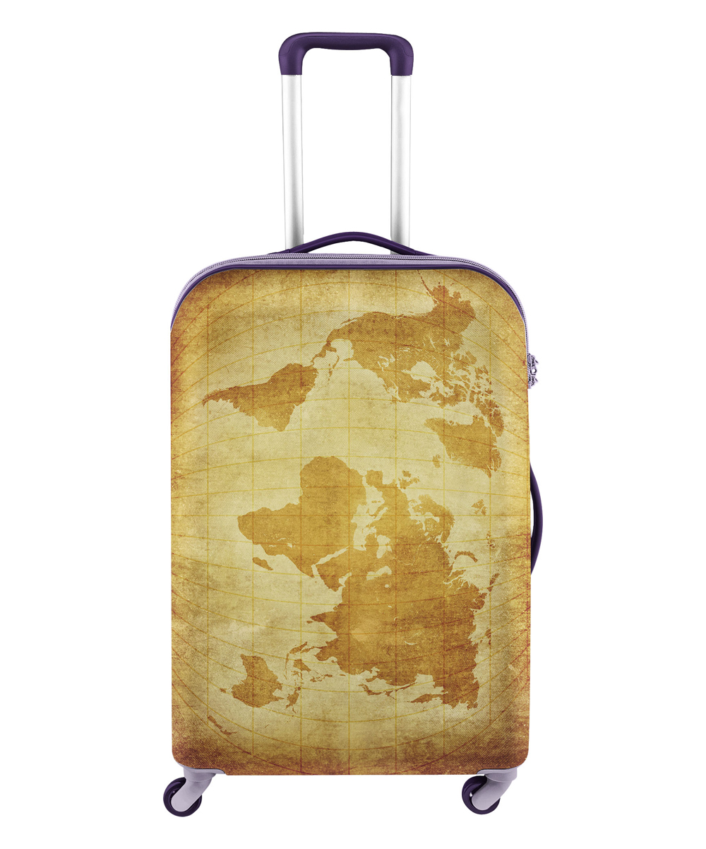 AYD Golden World Map Luge Cover on