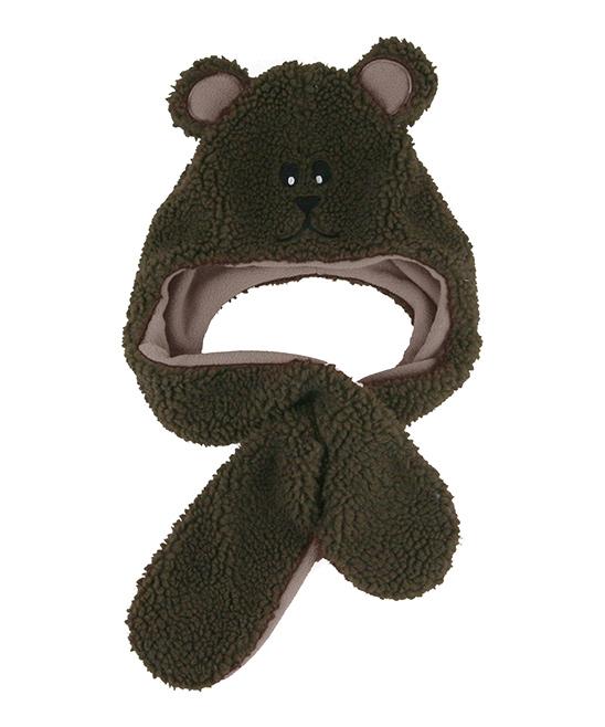 a3d4fc0a Grand Sierra Brown Bear Earflap Beanie - Toddler