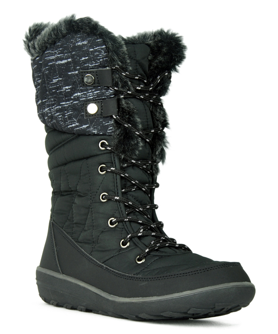 Refresh Black Hike Women Lace-up Boot