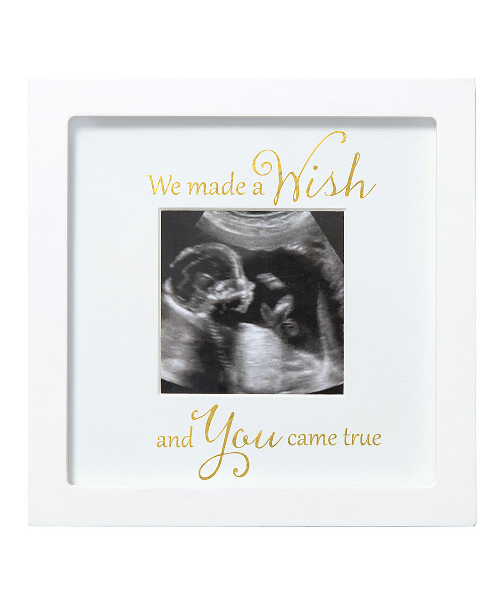 e74770dfde18 C.R. Gibson Baby White You Came True Sonogram Frame