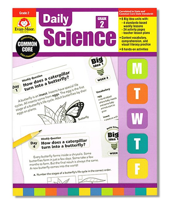 Evan-Moor Educational Publishers Grade 2 Daily Science Workbook