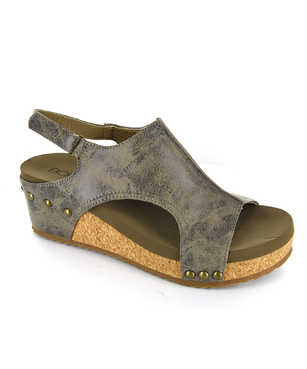 fc0ee9d1fb5 love this product Brown Distressed Volta Sandal - Women