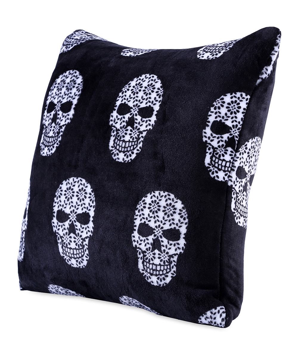 Love This Product Sugar Skull VelvetLoft® Throw Pillow
