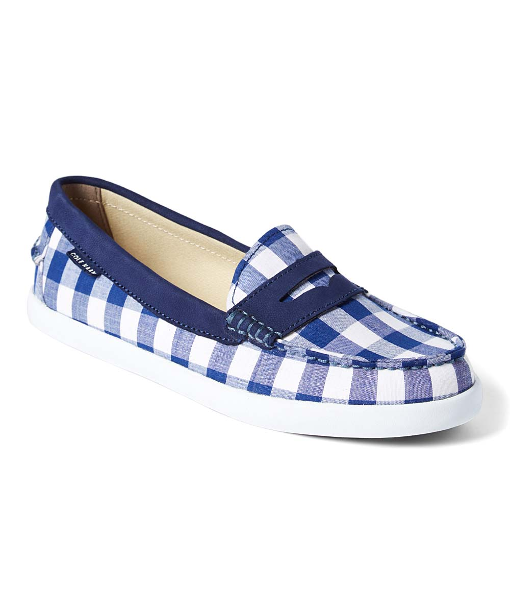 07d1ec5abe9 love this product Blue Gingham Pinch Weekender Loafer - Women