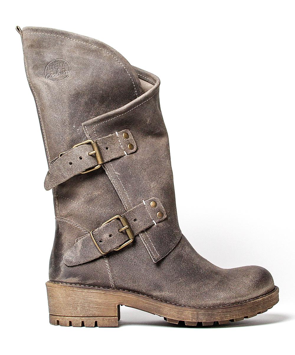 fcefb5fd691 Coolway Dark Brown Alida Suede Boot - Women