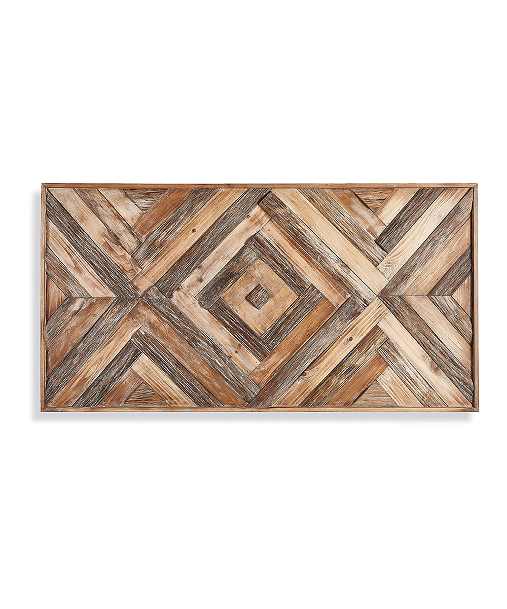 Porch Petal Geometric Wood Wall Art