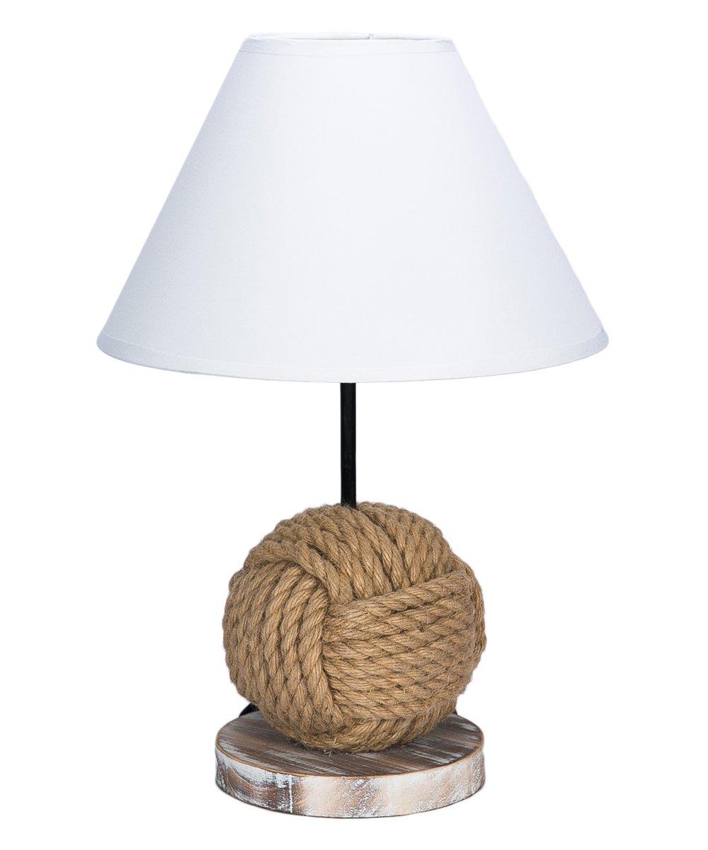 Beachcombers Coastal Life Monkey-Fist Knot Lamp  a22e3d808