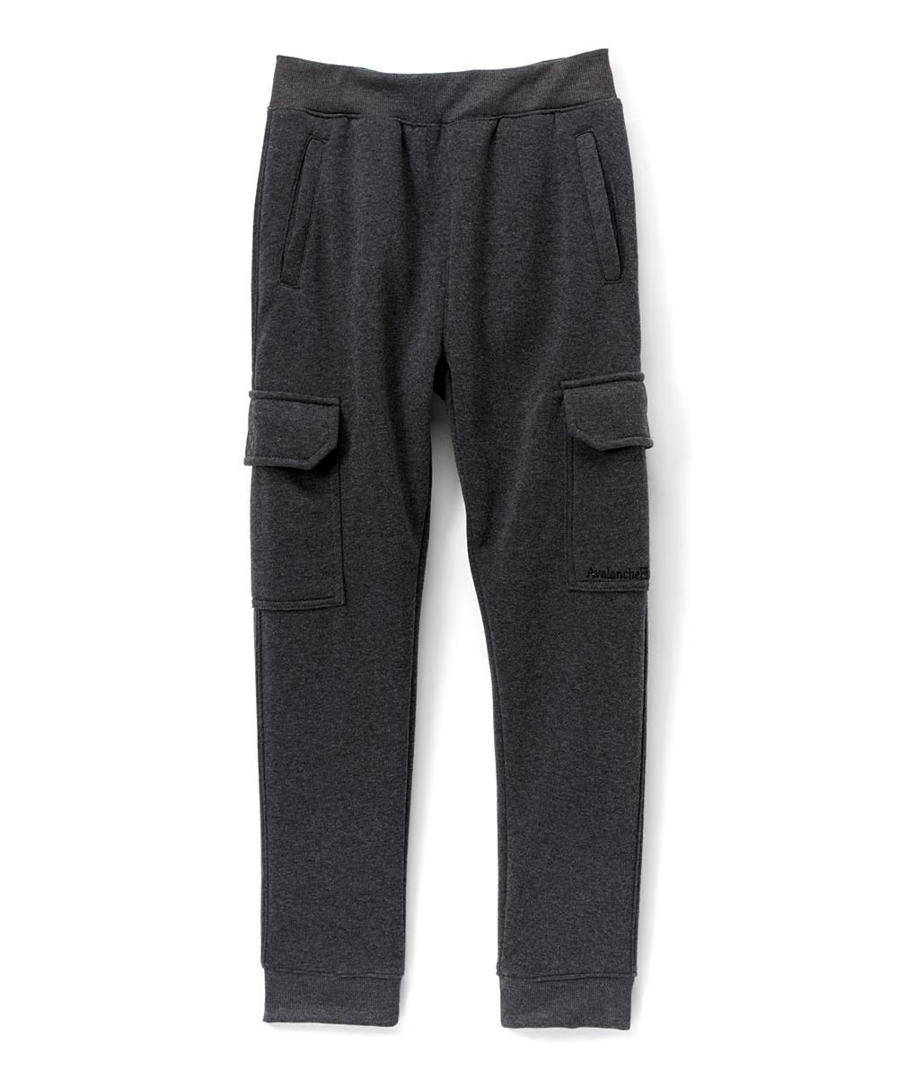 a6a6fddba Avalanche Charcoal Heather Fleece Cargo Sweatpants - Boys