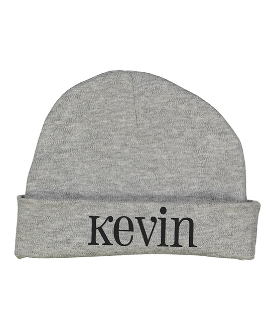 fb8a616650e85 Initial Request Gray Personalized Beanie