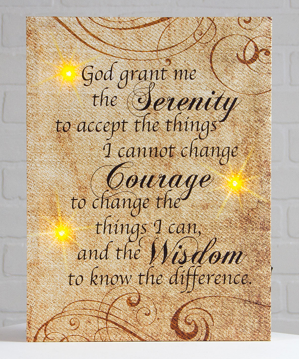 Perfect Serenity Prayer Wall Art Sketch - The Wall Art Decorations ...