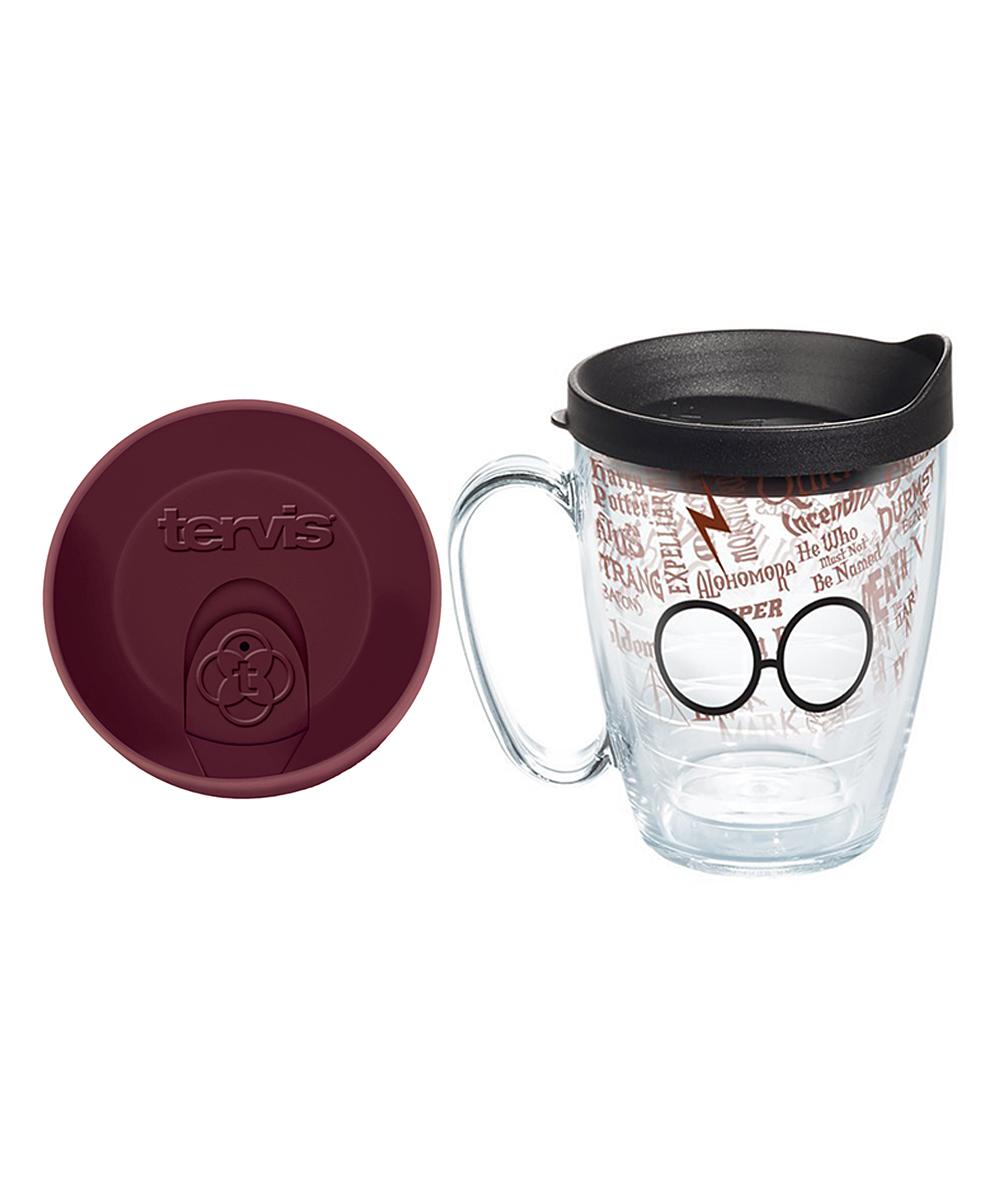 Love This Product 16 Oz Harry Potter Gles Scar Travel Mug Set