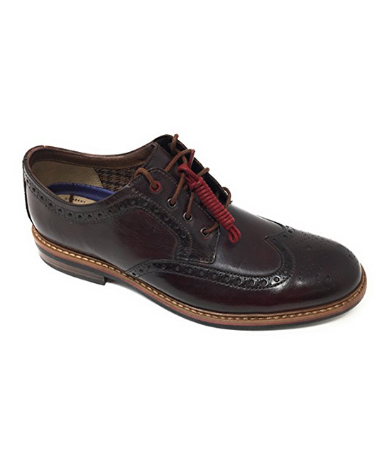 4b857e9152484 Bostonian Burgundy Bostonian Armon Wing Leather Oxford - Men