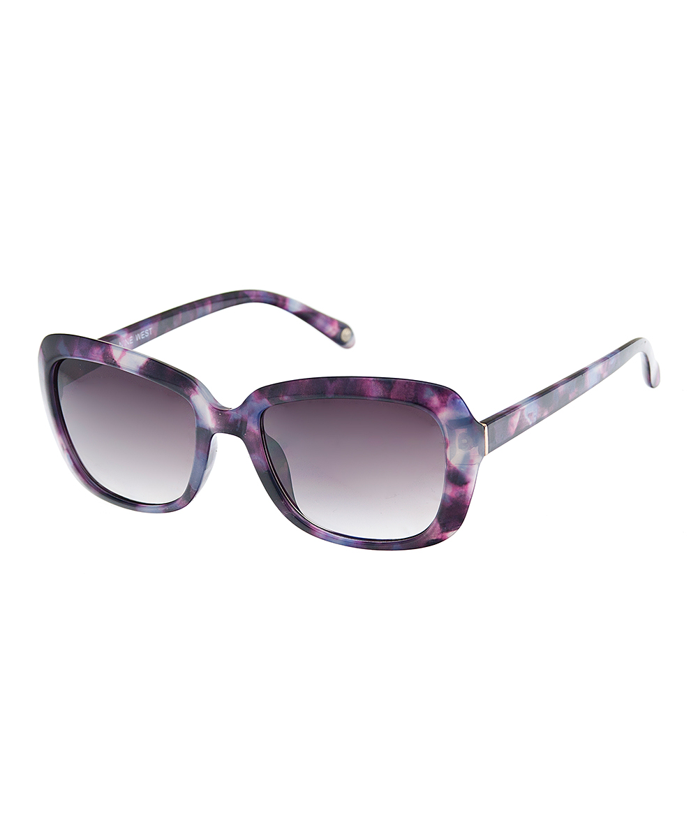 de78a6c275 Nine West Purple Galaxy Sunglasses