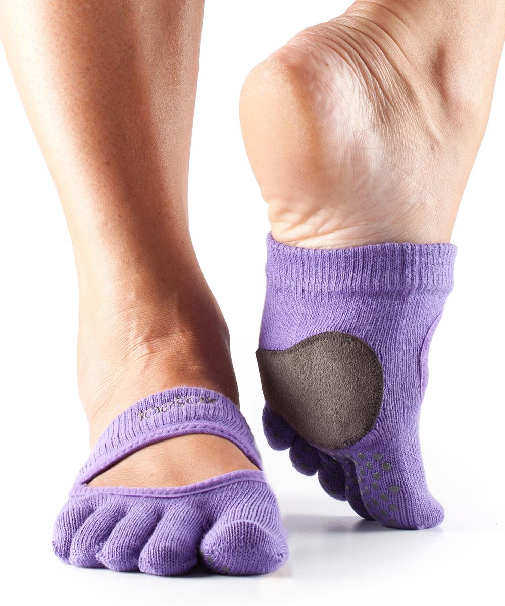 ToeSox Light Purple Releve Dance Full-Toe Grip Socks - Women