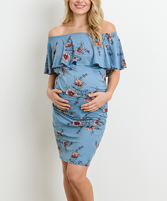 6ed8d449b76 Maternity Dresses - Dress Your Bump in Colorful Comfort at zulily