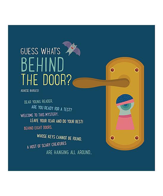 stor rabat hæderligt sted klassisk stil Sterling Guess What's Behind the Door? Paperback Book