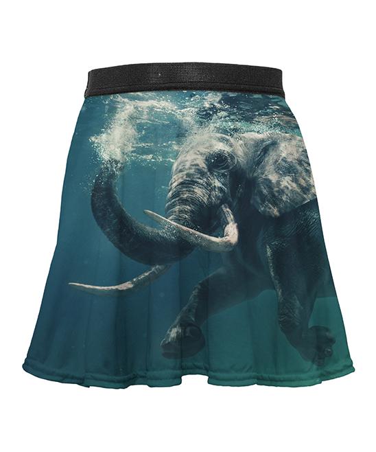 5899b517c5 Mr. Gugu & Miss Go Water Elephant Circle Skirt - Toddler & Girls ...