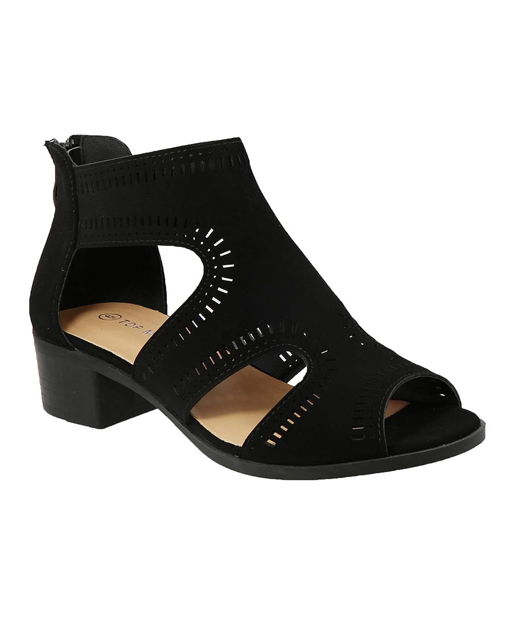 7235d8c62278 Black Cutout Gilian Sandal - Women - Top moda - Zulily