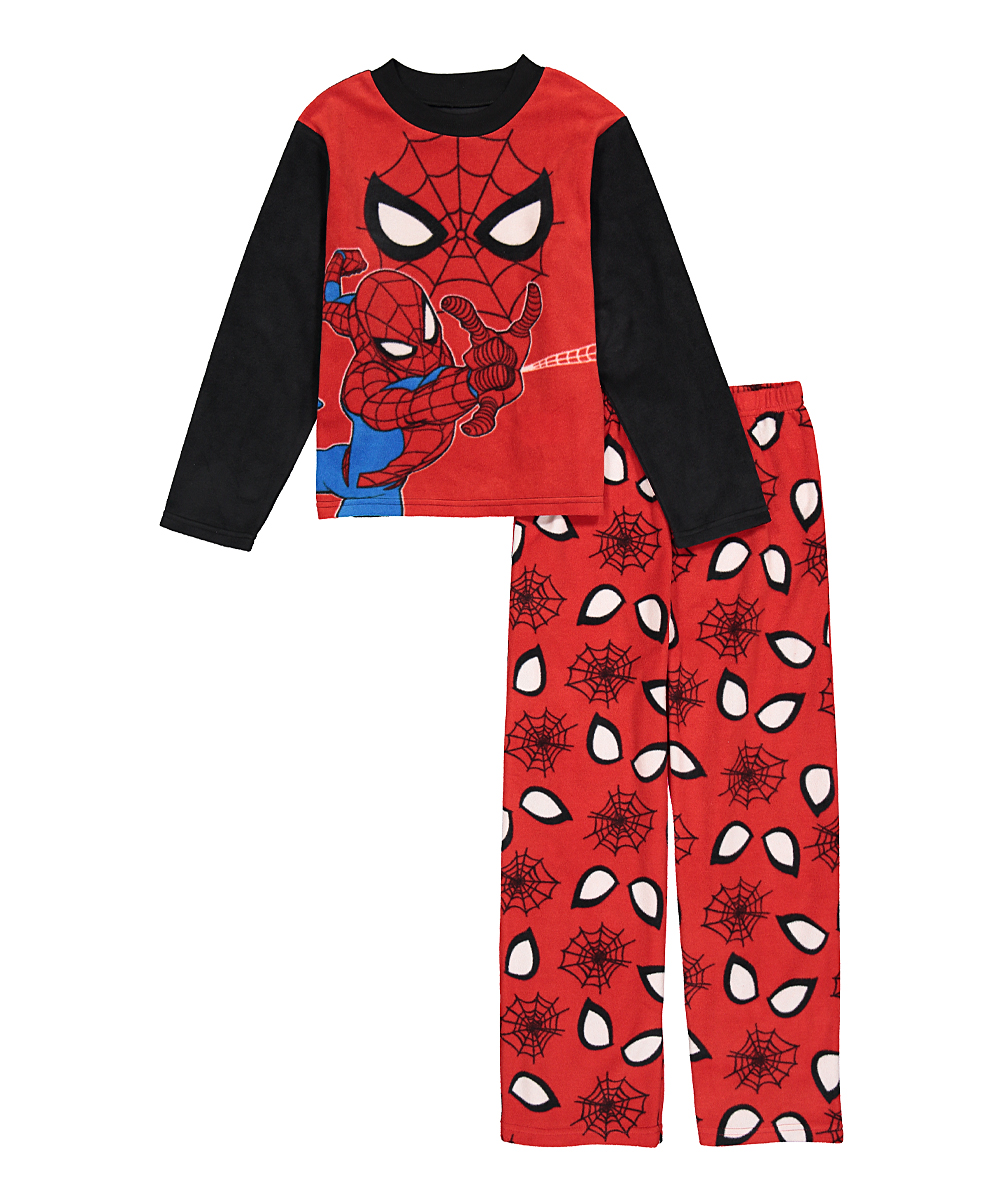 7894a5cb3d love this product Spider-Man Red Face Pajama Set - Boys