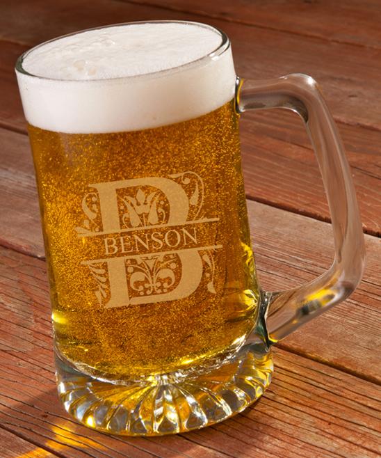 Gl 25 Oz Personalized Beer Mug