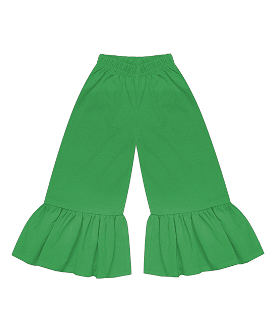 7649fee5ea0bb A.T.U.N. Green Ruffle Pants - Newborn & Infant