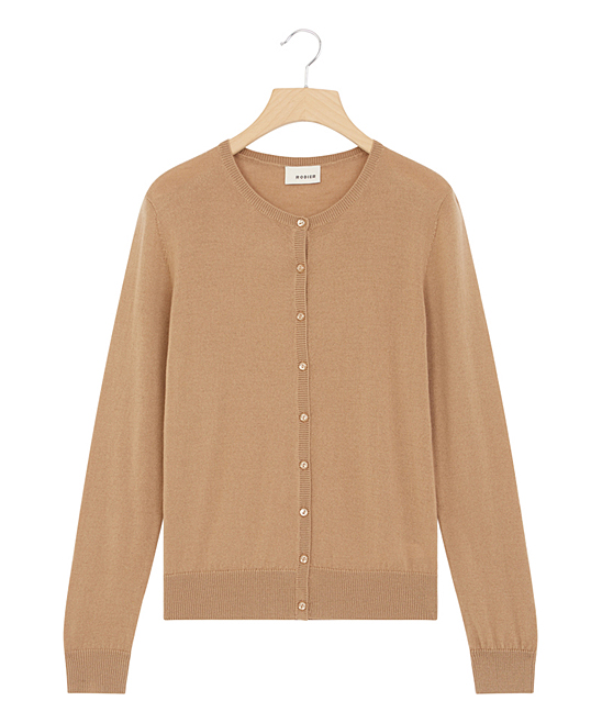 dcba4a390e6 love this product Camel Wool Button-Up Cardigan - Women